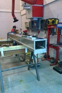 Airslide productie
