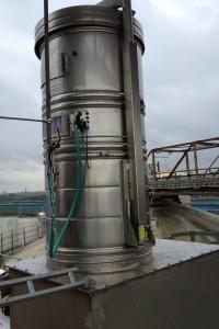 Filter betonsilo
